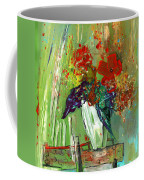 Bouquet In A White Vase Coffee Mug