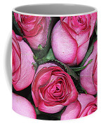 Bouquet Of Pink Roses Coffee Mug