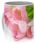 Bouquet Of Pink Tulips. Coffee Mug