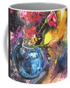 Bouquet With Black Tulip Coffee Mug