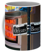 Bourbon And Orleans Coffee Mug