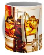 Bourbon - Large Size Painting Coffee Mug