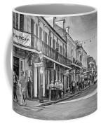 Bourbon Street Afternoon - Paint Bw Coffee Mug