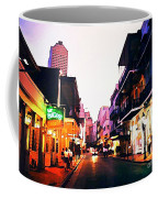 Bourbon Street Early Evening Coffee Mug