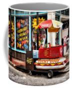 Bourbon Street Lucky Dog Coffee Mug by Bill Cannon
