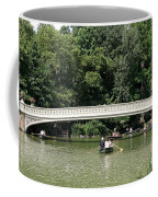Bow Bridge And Row Boats Coffee Mug