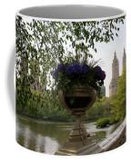 Bow Bridge Flowerpot And San Remo Nyc Coffee Mug