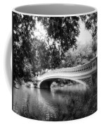 Bow Bridge In Black And White Coffee Mug