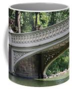 Bow Bridge Texture - Nyc Coffee Mug