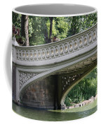 Bow Bridge Texture - Nyc Coffee Mug