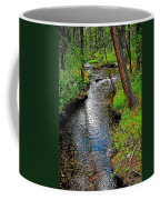 Bow River Near Lake Louise Campground In Banff National Park-ab Coffee Mug