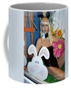 Bow Tie Blonde Coffee Mug