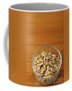 Bowl Of Shelled Walnuts Coffee Mug