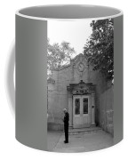Bowling Green Subway Time In Black And White Coffee Mug