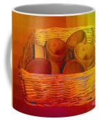Bowls In Basket Moderne Coffee Mug