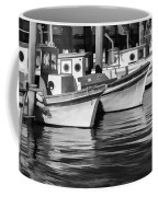 Bows Out Black And White Coffee Mug