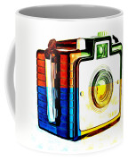 Box Camera Pop Art 3 Coffee Mug