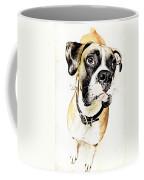 Boxer Dog Poster Coffee Mug