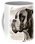 Boxer Profile Coffee Mug