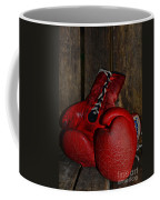 Boxing Gloves Worn Out Coffee Mug by Paul Ward