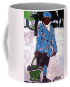 Boy Carrying Coal Circa 1901 Coffee Mug