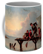 Boys Crabbing Coffee Mug