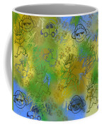 Boyz Only Abstract Coffee Mug