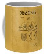 Bra Patent 19 Coffee Mug