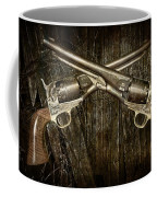 Brace Of Colt Navy Revolvers Coffee Mug