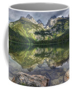 Bradley Lake Reflection - Grand Teton National Park Coffee Mug
