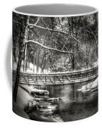 Brainards Bridge After A Snow Storm 3 Coffee Mug