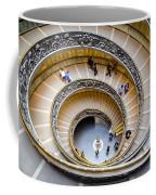 Bramante Spiral Staircase In Vatican City Coffee Mug