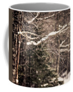 Branch In Forest In Winter Coffee Mug