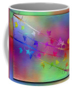 Branches In The Mist 17 Coffee Mug by Tim Allen