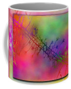 Branches In The Mist 24 Coffee Mug by Tim Allen