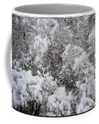 Branches Of Snow Coffee Mug