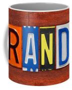 Brandon License Plate Name Sign Fun Kid Room Decor Coffee Mug