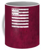 Brandywine Flag Coffee Mug by World Art Prints And Designs