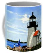 Brant Point Lighthouse Nantucket Massachusetts Coffee Mug