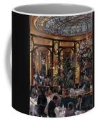 Brasserie Bofinger In The Rue De La Bastille, Paris, 1999 Oil On Canvas Coffee Mug