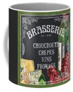 Brasserie Paris Coffee Mug by Debbie DeWitt
