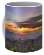 Brasstown Bald At Sunset Coffee Mug
