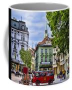 Bratislava Town Square Coffee Mug by Jon Berghoff