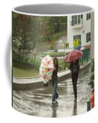Braving The Rain Coffee Mug