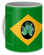 Brazilian Football Field Coffee Mug