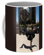 Break Dancer  Columbus Circle Coffee Mug