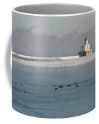 Break Wall And Light House Coffee Mug