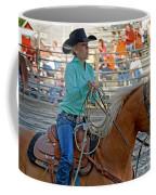 Breakaway Roping Gal Coffee Mug