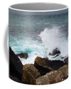 Breakers And Rocks Coffee Mug