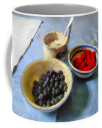 Breakfast In Red White And Blue Coffee Mug